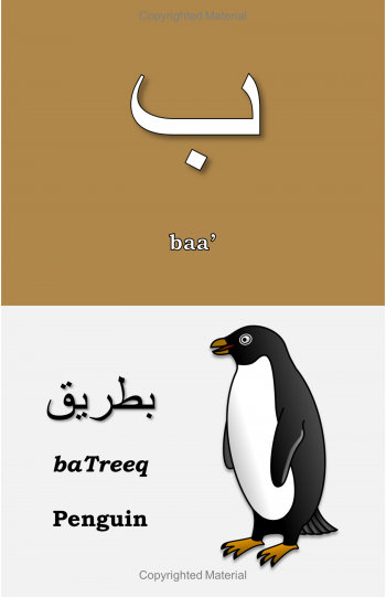 Arabic Letters (Build Your Arabic Vocabulary) - Sample Page